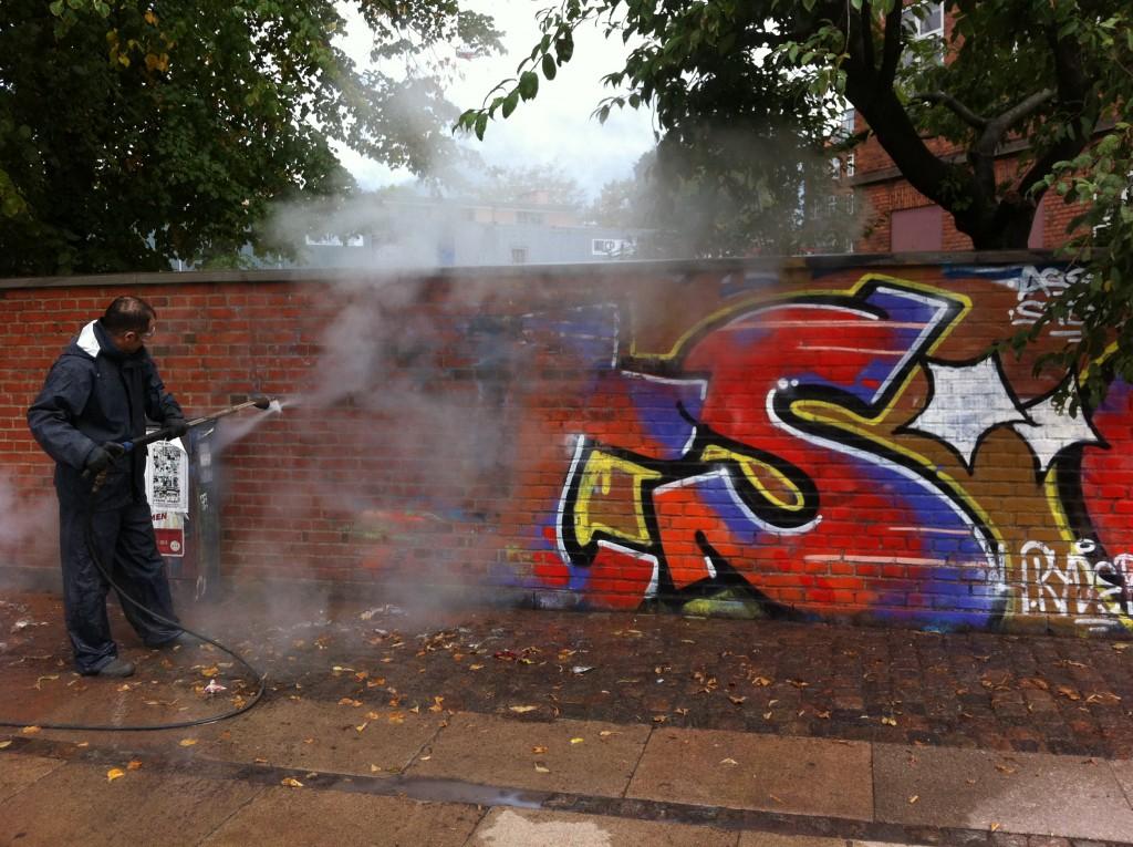 Afrensning af graffiti